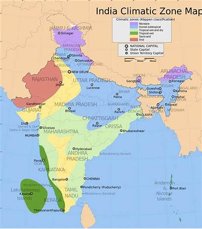 India Wikipedia Climate Map Climatic Zone Wiki