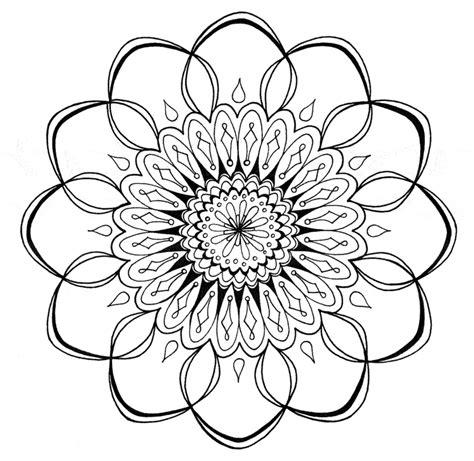 huebsche mandala vorlagen zum ausdrucken und ausmalen