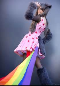 Cute Nyan Cat Costume for Girls