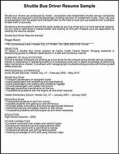 great sample resume shuttle bus driver resume sample With bus driver resume sample