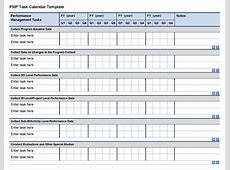 Monthly Task Calendar Template Free Calendar Template