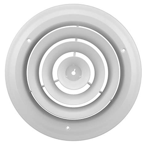 Accord Abcdwh08 Round Ceiling Diffuser, 8inch, White New