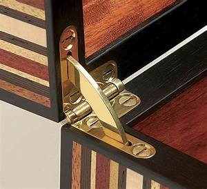 Quadrant Hinges and a Lock Elevate Any Box - FineWoodworking