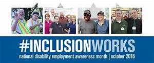 Inclusion Works for All of Us: National Disability ...