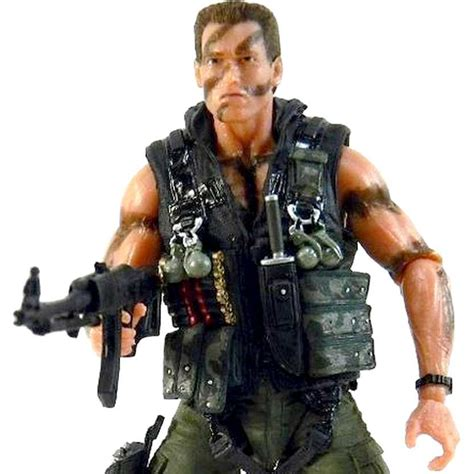 comando schwarzenegger arnold john matrix matar action neca ultimate figure cmb collabo