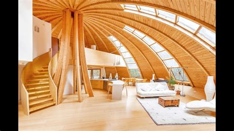 Ecofriendly Rotating Dome Country Retreat Youtube