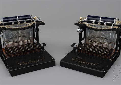 Typewriter | CGTrader