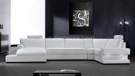 canape angle cuir blanc photos canapé angle cuir blanc