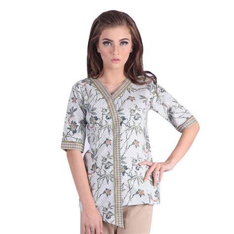 model baju batik lengan pendek terbaru model baju