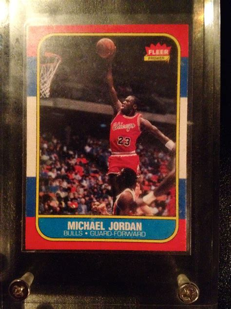 Over the years, more than 18,000 michael jordan rookie cards have been submitted into psa, however, there are only currently 316 cards that have. Michael Jordan Fleer Rookie Card | Michael jordan, Jordan bulls, Cards