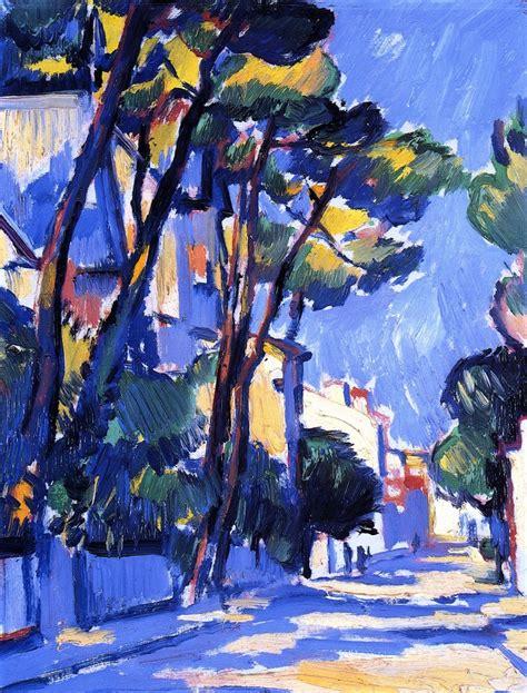 John Myers Art Dappledwithshadow Street Scene France