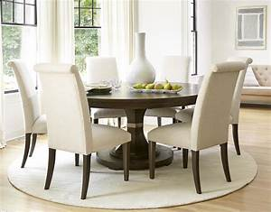 Universal Furniture California 7pc Round Dining Room Set W