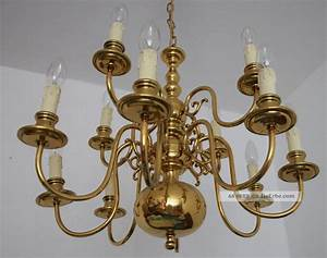 Kronleuchter Metall Antik : 12 flg antik kronleuchter messing poliert deckenlampe l ster h ngelampe ~ Sanjose-hotels-ca.com Haus und Dekorationen