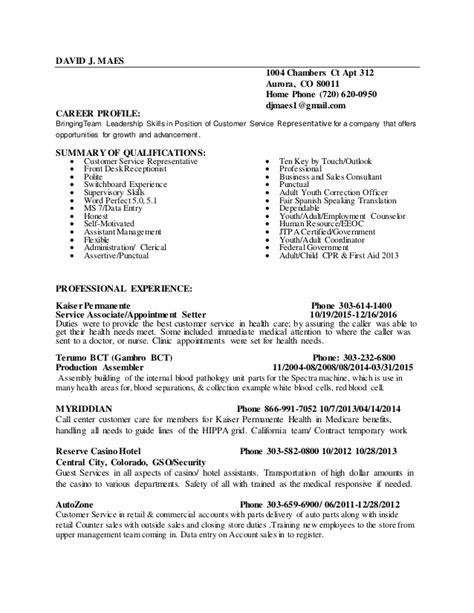 Phone Customer Service Resume by Resume
