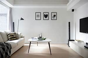 Black And White Living Rooms: Charismatic Style And
