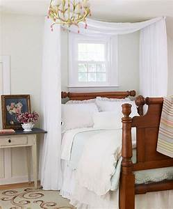 Diy, Ideas, For, Getting, The, Look, Of, A, Canopy, Bed, Without, Buying, A, New, Bed