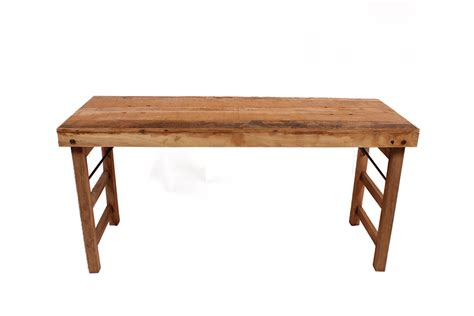 markt tafel oud hout inklapbaar gusj - Markt Tafel