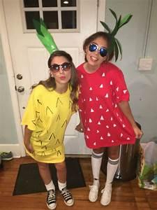 Ananas Kostüm Selber Machen : diy strawberry and pineapple costume t i p s pinterest pineapple costume costumes and ~ Frokenaadalensverden.com Haus und Dekorationen