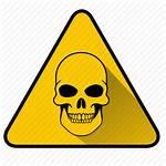 Danger Dangerous Icon Skull Peril Sign Virus