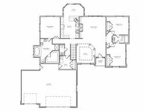 split house plans split bedroom ranch hosue plan 3 bedroom ranch house plan