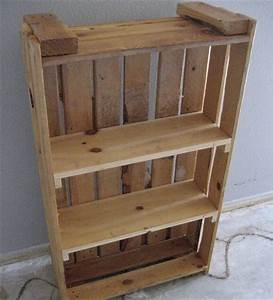 Pallet Bookcase: A Perfect Place for All Reading Material