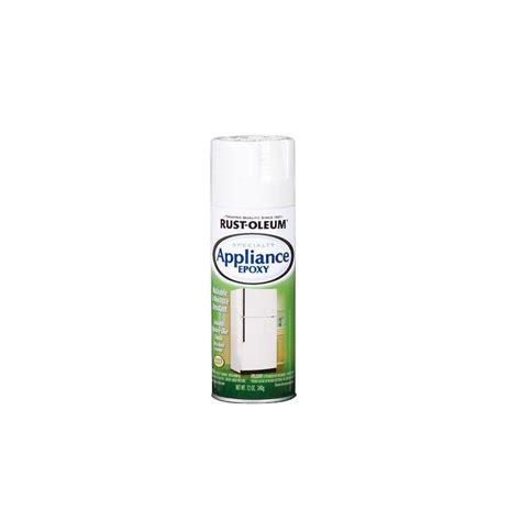 rust oleum specialty 12 oz epoxy gloss white appliance