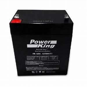 Batterie 12 Volts : 12 volt 5ah battery 1250 battery pete ~ Farleysfitness.com Idées de Décoration