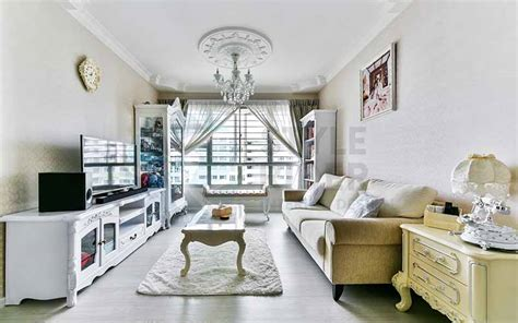 Victorian style homes with their trademark turrets and decorative details are super charming. Boonlay View - Modern Victorian Interior Design 5 room hdb ...