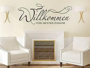 Zuhause Im Glück Jugendzimmer : wandtattoo f hl dich wie zuhause willkommen wandtattoo de ~ Markanthonyermac.com Haus und Dekorationen