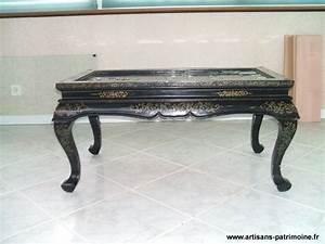Table Basse Chinoise : table basse chinoise artisans du patrimoine ~ Melissatoandfro.com Idées de Décoration