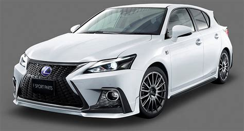 lexus ct200h dub magazine trd gives lexus ct 200h a facelift