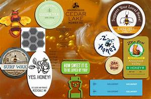 custom honey stickers and labels stickergiant With custom honey labels stickers