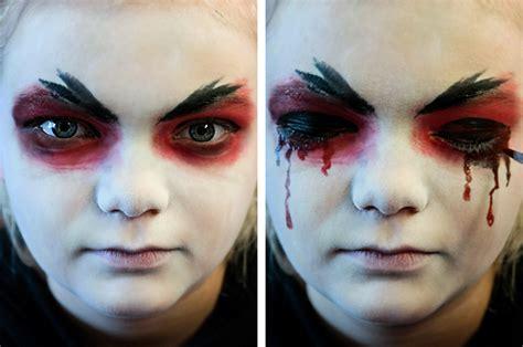 halloween   schminktipps vampir totenkopf hexe