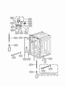 Tub Parts Diagram  U0026 Parts List For Model Ldf7811st01 Lg
