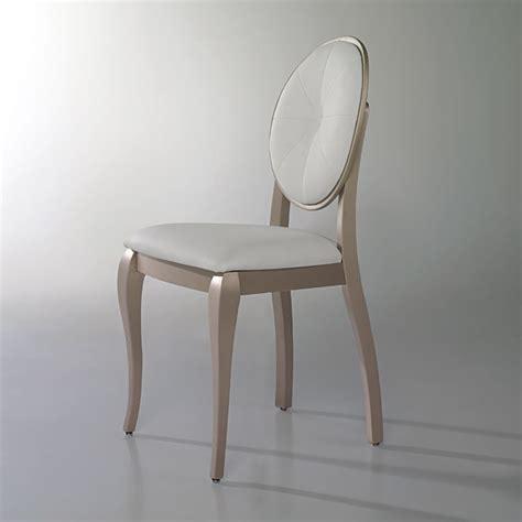chaise personnalisée chaises médaillon cristal à personnaliser lot de 2