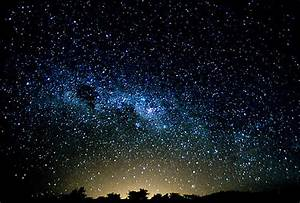 beautiful, horizon, night, sky, stars - image #120427 on ...