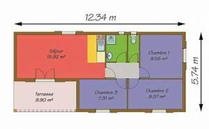 Surface Habitable Calcul : calcul de la surface habitable d une maison avie home ~ Premium-room.com Idées de Décoration
