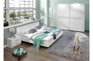 Meuble Chambre Adulte : chambre adulte compl te design blanche cbc meubles ~ Dode.kayakingforconservation.com Idées de Décoration