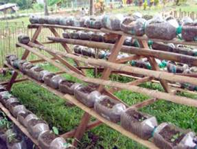 Plastic Bottle Container Vegetable Gardens