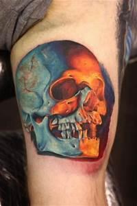 80+ Amazing Example Of Cool Skull Tattoo Designs - Golfian.com