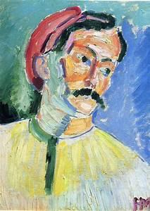 Portrait of Andre Derain, 1905 - Henri Matisse - WikiArt.org