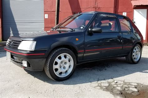 Peugeot 205 Gti For Sale Usa by 1990 Peugeot 205 Gti 1 9 For Sale On Bat Auctions Sold