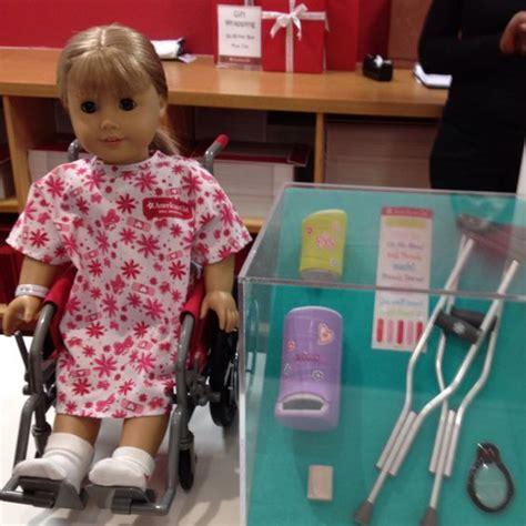 american girl doll hospital  love retail