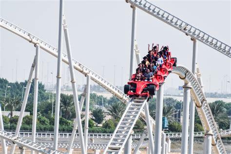 Ferrari world in uae will open on october 28. Ferrari Formula One Roller Coaster | Puloh
