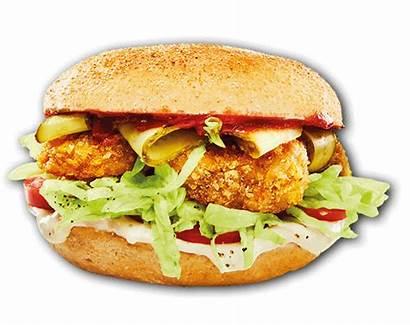 Burger Beef Meats Football Block Bun Crispy