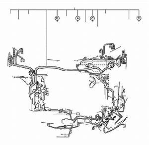 2011 Toyota Highlander Connector  Wiring Harness  Engine