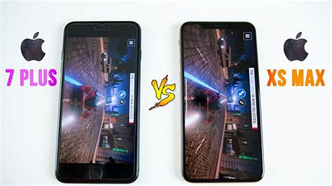 iphone xs max vs iphone 7 plus speed test think before upgrading