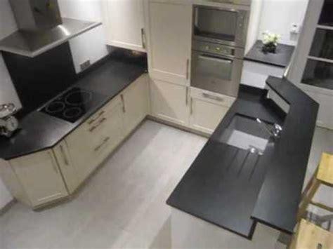 Plan De Travail Noir Plan De Travail Cuisine Granit Noir Fin Aspect Cuir Wmv