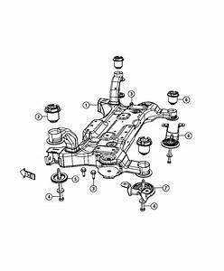 Dodge Grand Caravan Crossmember  Front Suspension