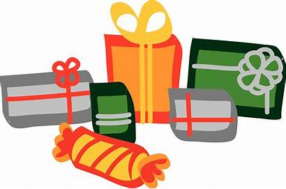 Presents Clip Clipart Christmas Present Lot Gifts
